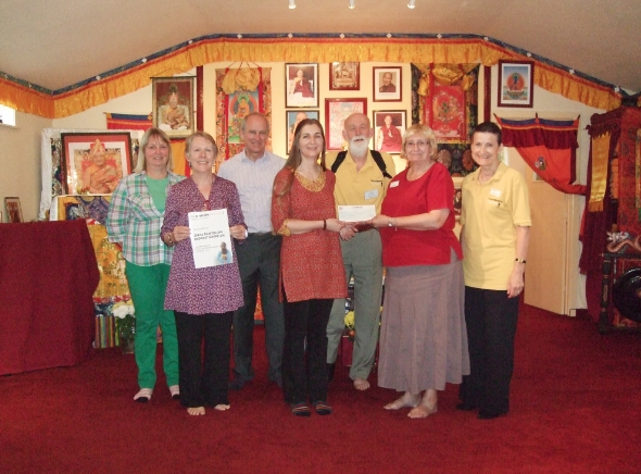 Sakya Thubten Ling awarded over £1000 from the Co-Op!