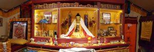 Sakya Thubten Ling inside the center